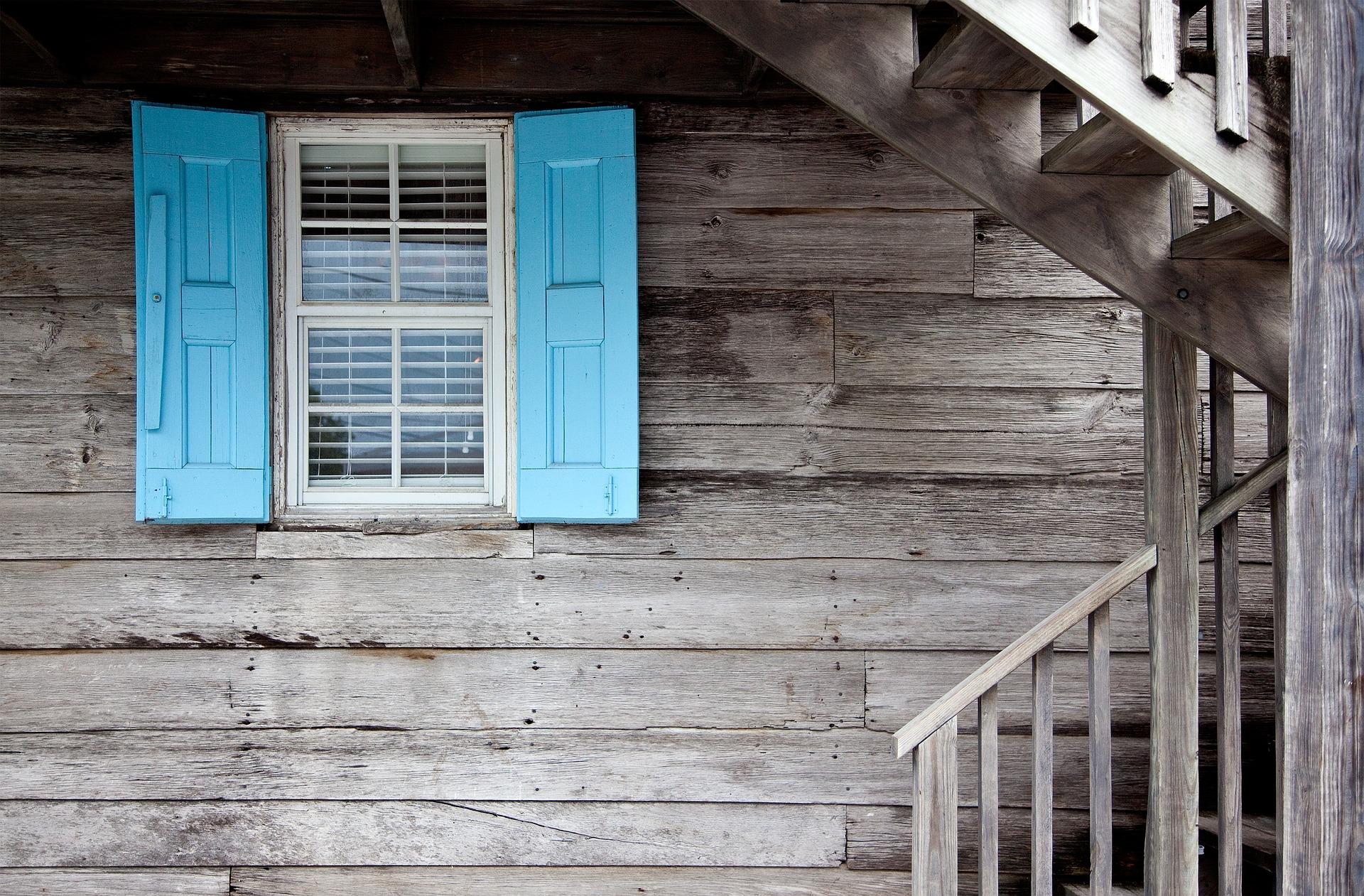La menuiserie extérieure de la maison