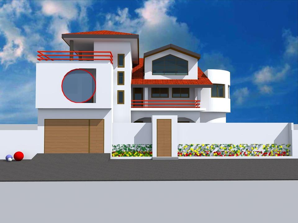 L'architecture et les caractéristiques d'une maison contemporaine