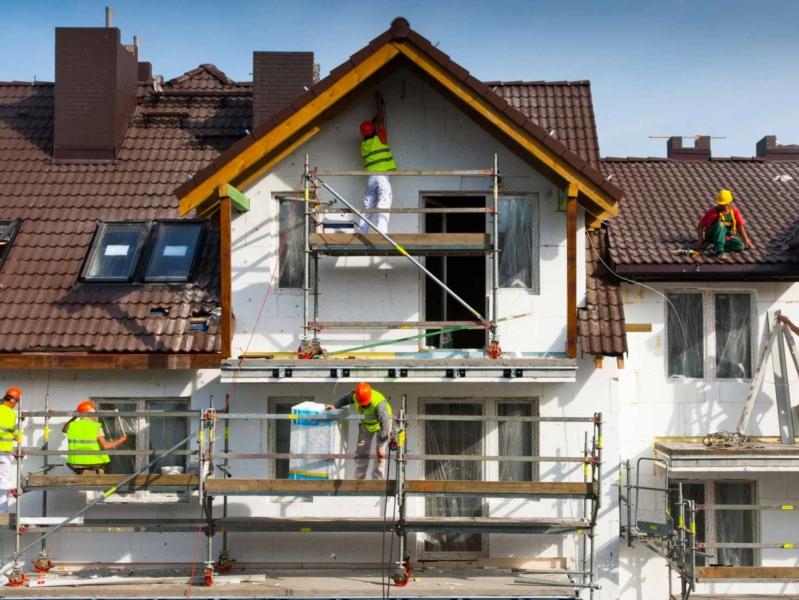 Le déroulement des travaux de ravalement de façade
