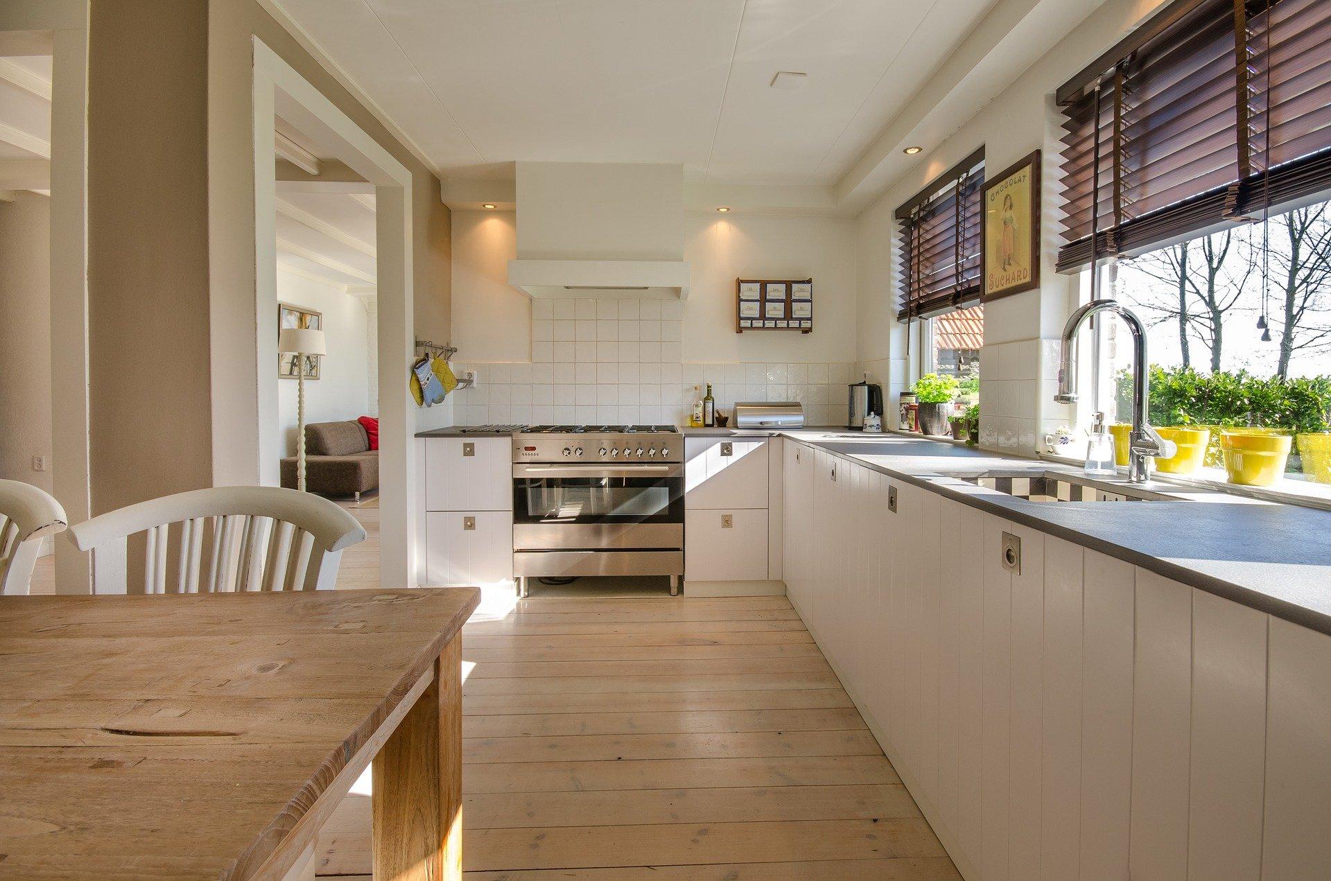 Une cuisine pratique et moderne